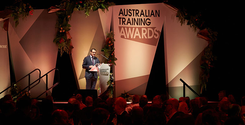 Australian Training Awards 2016 Stage