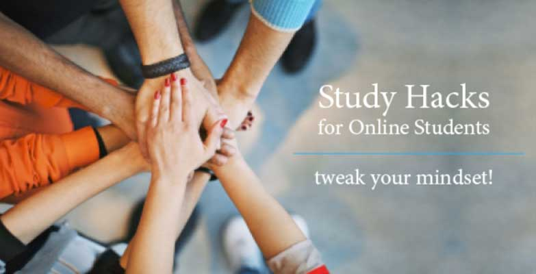 Study Hacks for Online Students 783x400