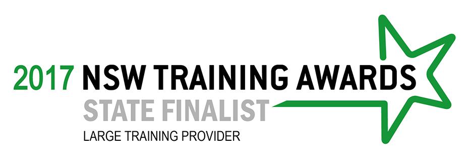2017 NSW Training Awards State Finalist - Large Training Provider